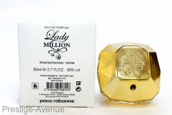 Тестер: Paco Rabanne Lady Million 80 мл