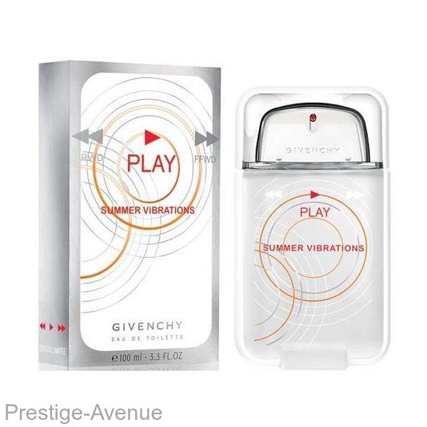 Givenchy - Туалетная вода Play Summer Vibrations 100ml.
