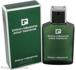 Paco Rabanne - Туалетная вода Paco Rabanne Pour  Homme 100 ml.