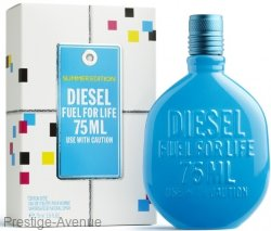 Diesel - Туалетная вода Diesel Fuel for Life Homme Summer Edition 75 мл