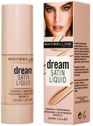 Тональный крем Maybelline Dream Satin Liquid 30ml