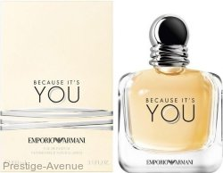 Emporio Armani - Парфюмированая вода Because It's You For Woman 100 мл