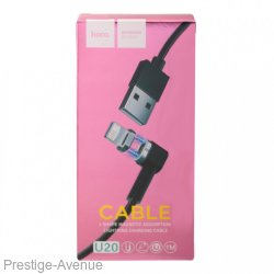 Hoco магнитный кабель для Iphone Lightning Charging Cable U20, 1метр