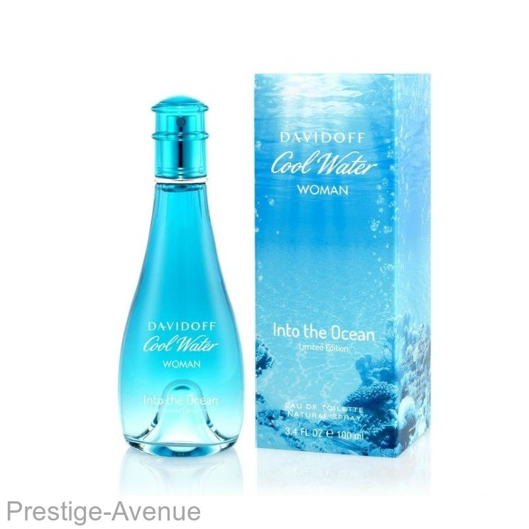 "Davidoff - Туалетная вода ""Cool Water Into The Ocean"" 100 ml (w)"