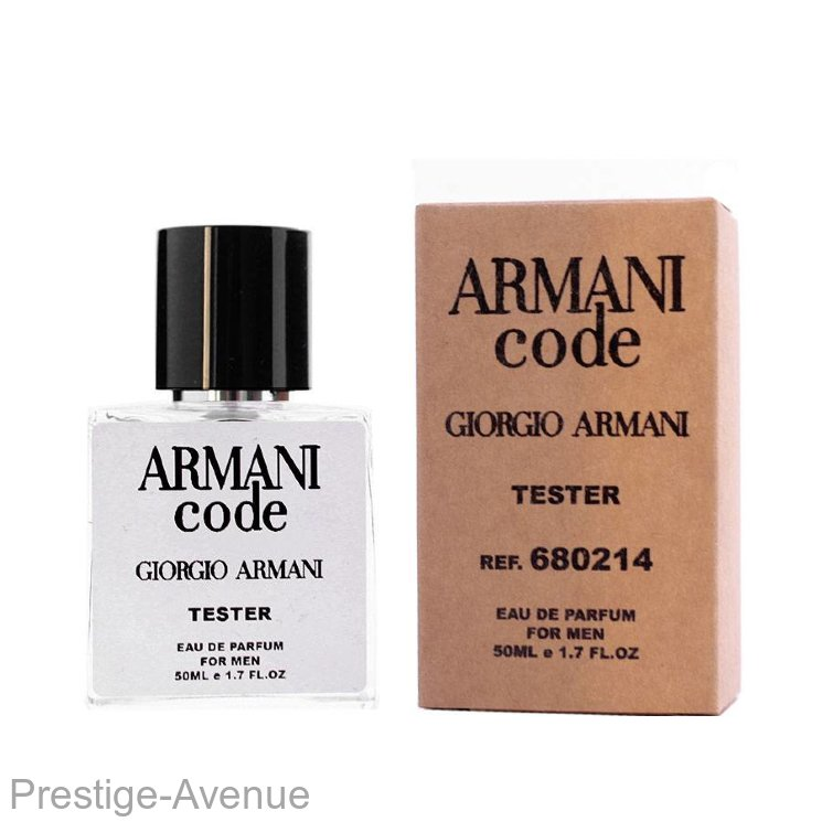 Тестер GIORGIO ARMANI Code edp for men 50 ml