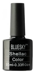 New! Shellak Bluesky Nail Gel Color Гель Лак 10 мл