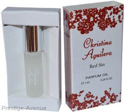 Christina Aguilera Red Sin 7мл