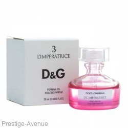 "Парфюмированное масло Dolce & Gabbana ""L'Imperatrice №3"" Perfume Oil 20 ml  Made In UAE"
