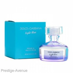 "Парфюмированное масло Dolce & Gabbana ""Light Blue"" Perfume Oil 20 ml  Made In UAE"