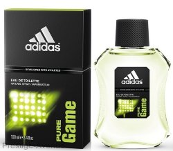 Adidas Pure Game for men 100 мл