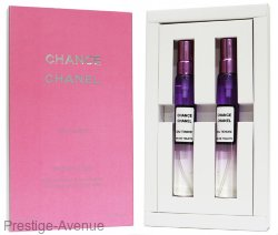 Подарочный набор 2х15мл Chanel Chance Eau Tendre eau de toilette for women