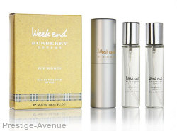 Burberry - Туалетные духи Burberry Weekend 3х20 ml (w)