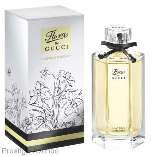 Gucci - Туалетная вода Flora by Gucci Glorious Mandarin 100 мл