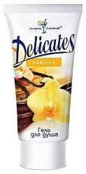 Гель для душа Delicates Vanilla 200ml