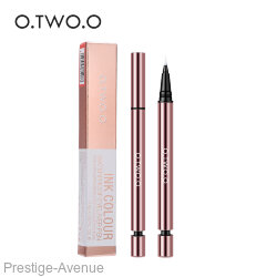 Подводка для глаз O.TWO.O Ink Colour waterproof eyeliner pen №2.0 Brown (арт 1008)