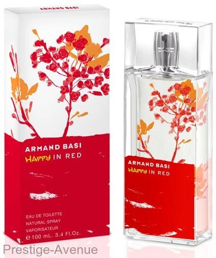 Armand Basi - Туалетная вода Happy In Red 100 ml (w)