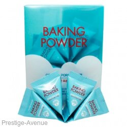 Скраб Etude House Baking Powder Crunch Pore Scrub для очищения пор с содой,7 g x 24 шт