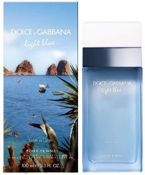 Dolce & Gabbana - Туалетная вода Light Blue Love in Capri Pour Femme 100 мл