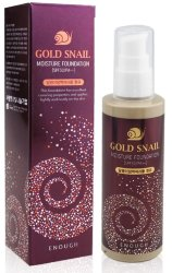 Тональный крем Enough Gold Snail Moisture Foundation 100мл