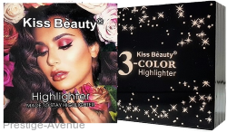 Хайлайтер Kiss Beauty 3 цвета 15g