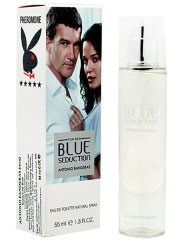Antonio Banderas Blue Seduction For Men edt феромоны 55 мл