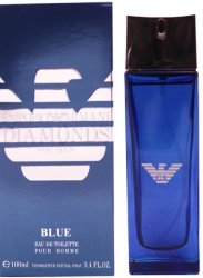 Giorgio Armani - Туалетная вода Emporio Armani Diamonds Blue for Men 100 мл