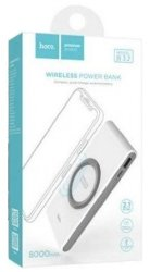 Внешний аккумулятор Hoco Power Bank B32 Energetic Wireless 8000 mAh