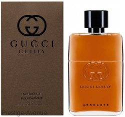 Gucci - Туалетная вода Guilty Absolute Pour Homme 90 ml.