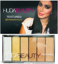 Хайлайтер Huda Beauty Textured 3D 6 цветов